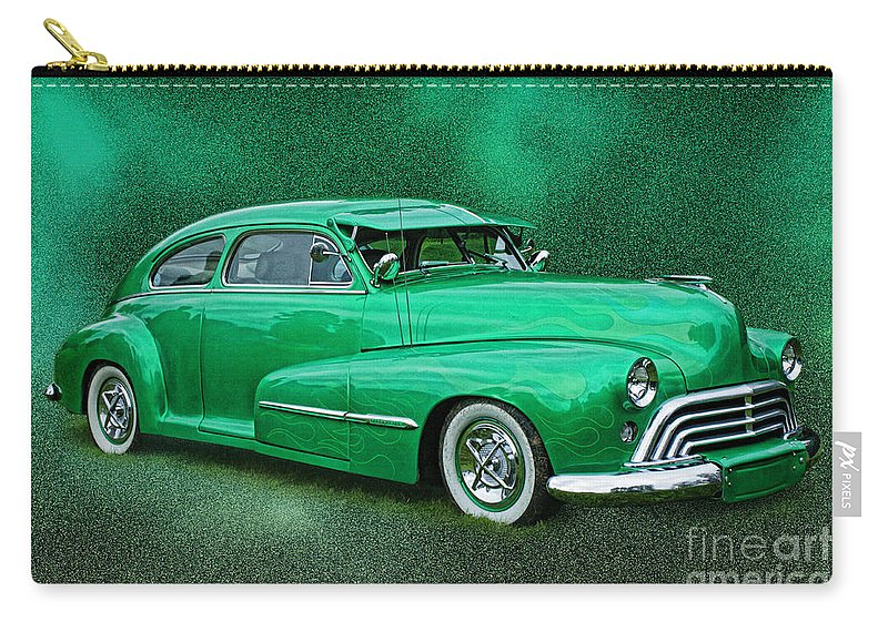 Cars Carry-all Pouch featuring the photograph The Green Ghost by Randy Harris