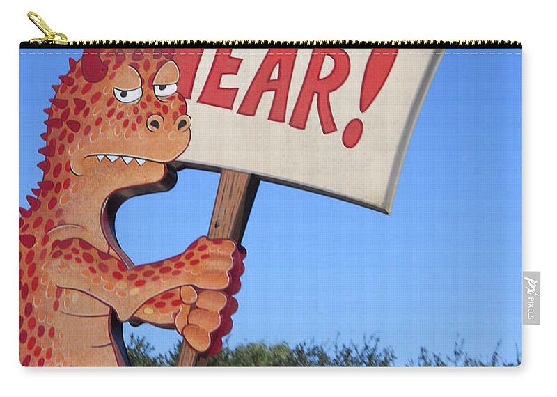 Animal Kingdom Carry-all Pouch featuring the photograph The Grouchy Prophet by Rachel Kaufmann
