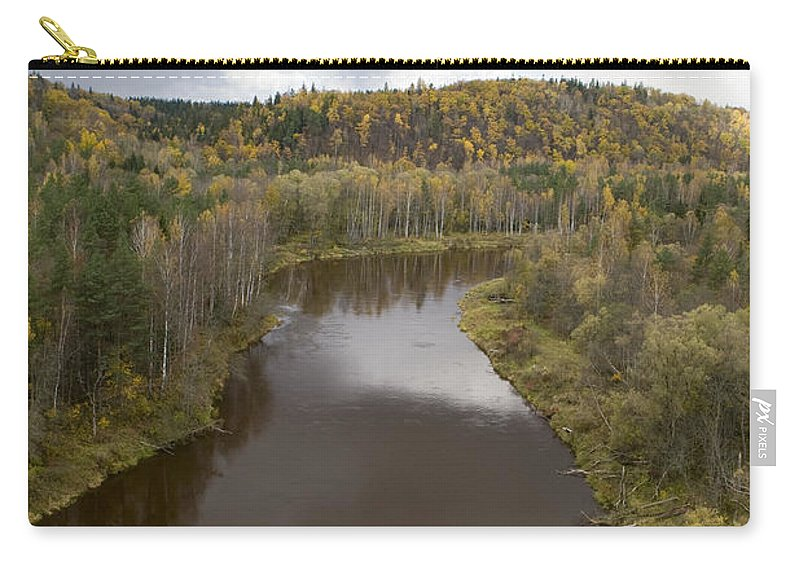 Travel Carry-all Pouch featuring the photograph The Guaja River by Jason O Watson
