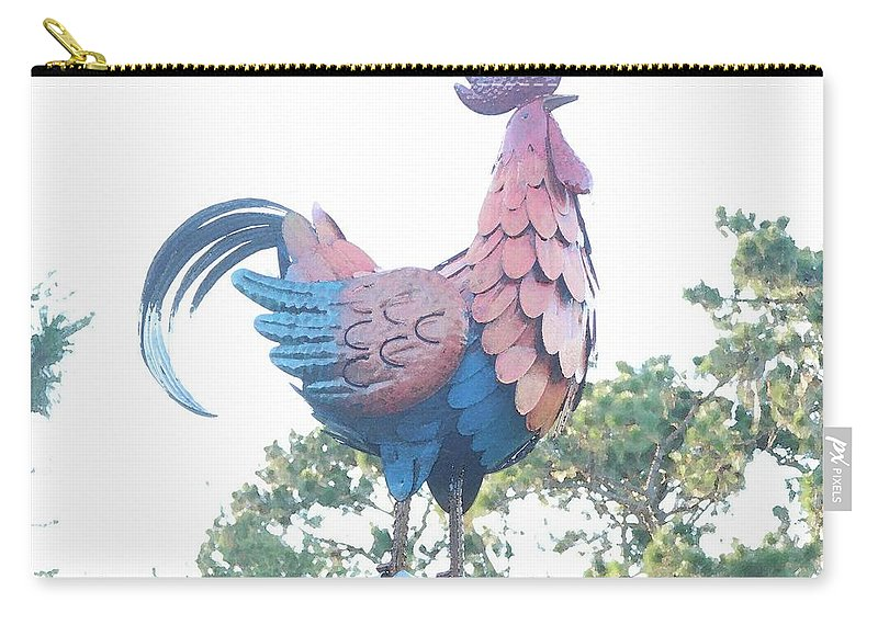 English Carry-all Pouch featuring the painting the Guardian by George Pedro