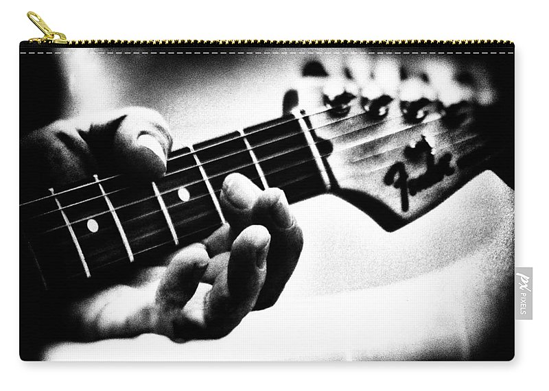 Fender Carry-all Pouch featuring the photograph The Guitar by Bob Orsillo