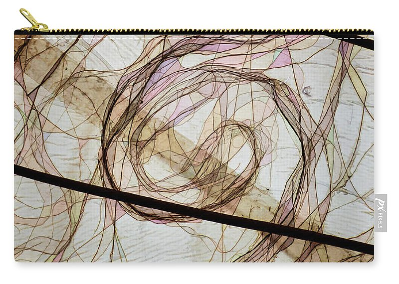 Hair Carry-all Pouch featuring the photograph The Hair Net by Steve Taylor