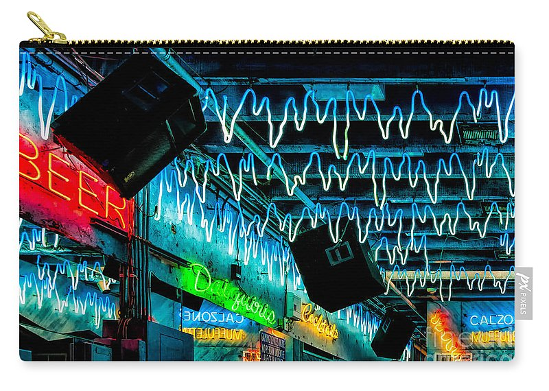 New Orleans Carry-all Pouch featuring the photograph The Hangover by Kathleen K Parker