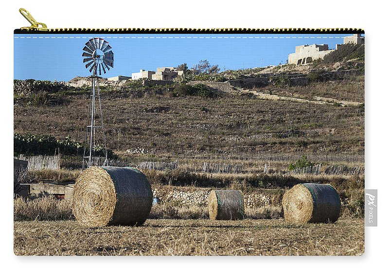 Sulla Carry-all Pouch featuring the photograph The Harvest by Focus Fotos