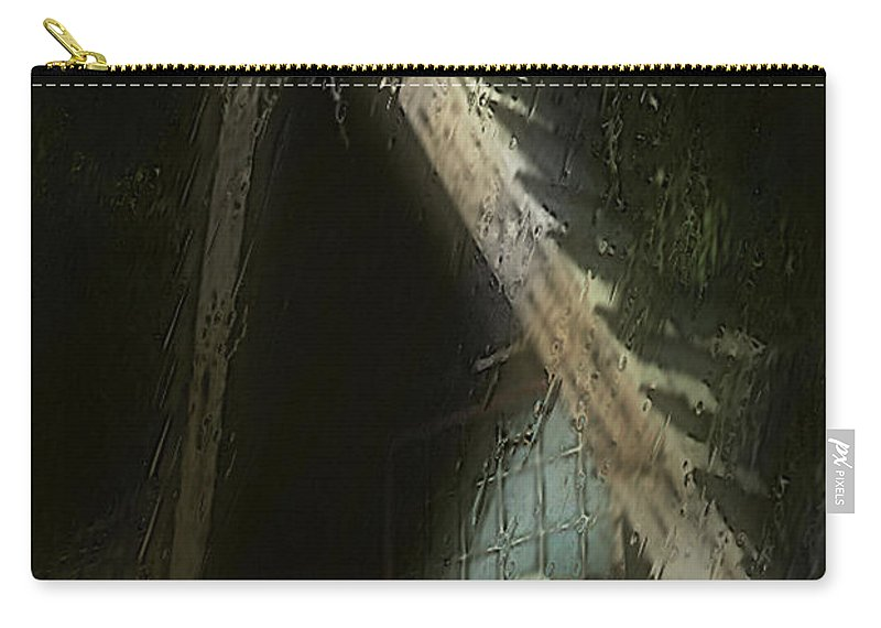 House Carry-all Pouch featuring the painting The Haunted Gable by RC DeWinter
