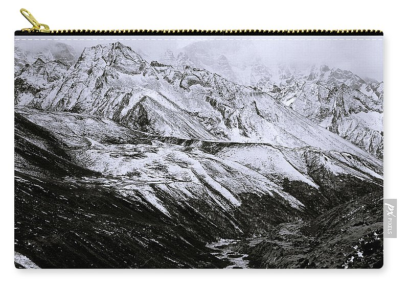 Dramatic Landscape Carry-all Pouch featuring the photograph The Himalaya by Shaun Higson