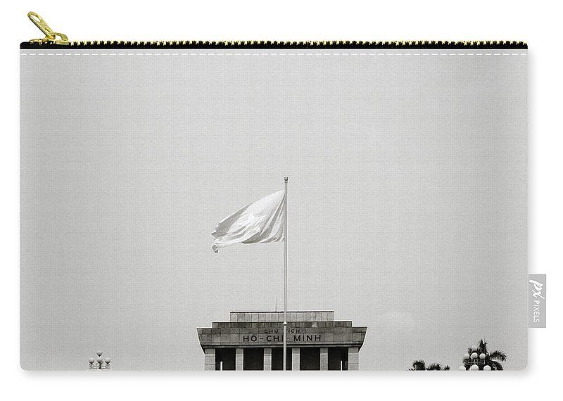 Asia Carry-all Pouch featuring the photograph The Ho Chi Minh Mausoleum by Shaun Higson