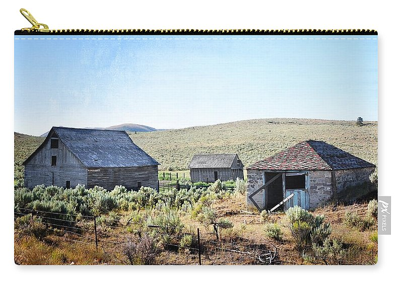 Barn Carry-all Pouch featuring the photograph The Homestead by Image Takers Photography LLC