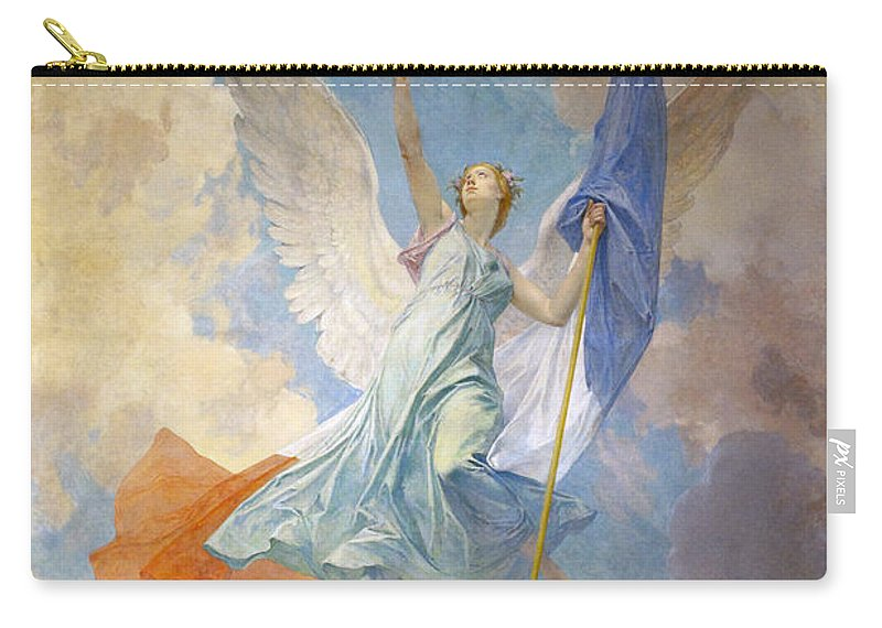 Diogene Ulyssee Napoleon Maillart Carry-all Pouch featuring the digital art The Hope by Diogene Ulyssee Napoleon Maillart