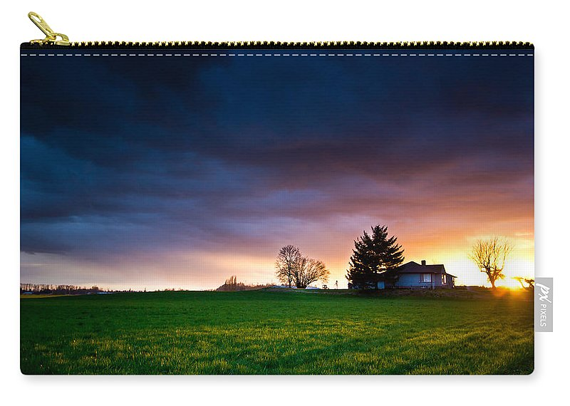 House Carry-all Pouch featuring the photograph The House Of The Rising Sun by Eti Reid