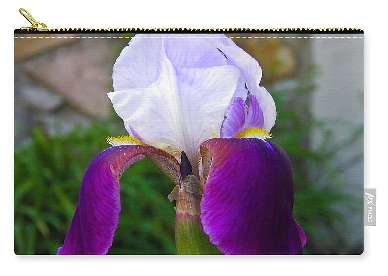 Iris Carry-all Pouch featuring the photograph The Iris by Nick Kirby