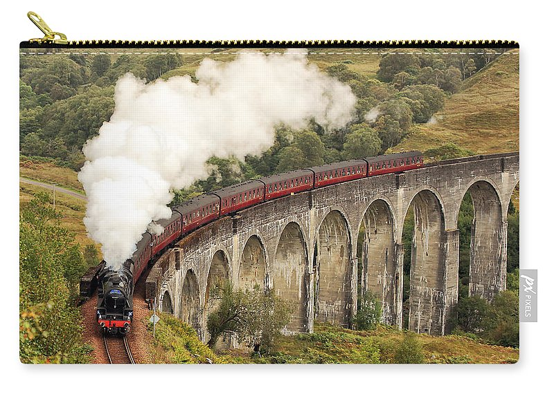 The Jacobite Carry-all Pouch featuring the photograph The Jacobite by Grant Glendinning