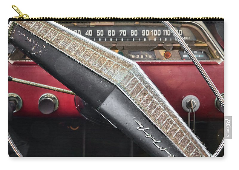 The Key Is Still In It Carry-all Pouch featuring the photograph The Key Is Still In It by Dale Kincaid
