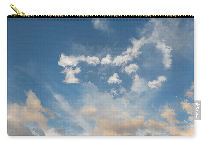 California Carry-all Pouch featuring the photograph The Key To Cloud Computing by John Lund