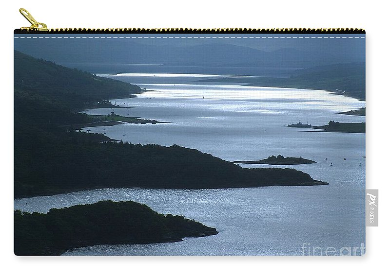 The Kyles Of Bute Carry-all Pouch featuring the photograph The Kyles Of Bute by Joan-Violet Stretch
