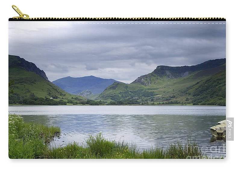 Photography Carry-all Pouch featuring the photograph The Lake by Wendy Wilton