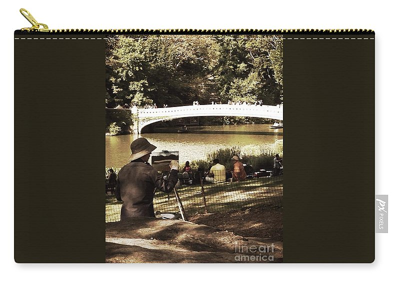 Landscape Carry-all Pouch featuring the photograph The Landscape by Christy Gendalia