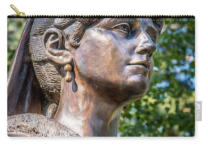 Tsaritsa Carry-all Pouch featuring the photograph The Last Tsarita by Andrew Matwijec