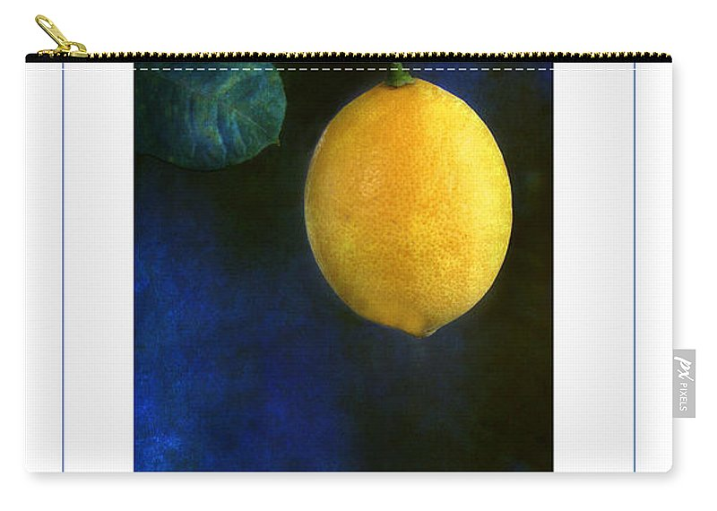 Lemon Carry-all Pouch featuring the photograph The Lemon Poster by Mike Nellums