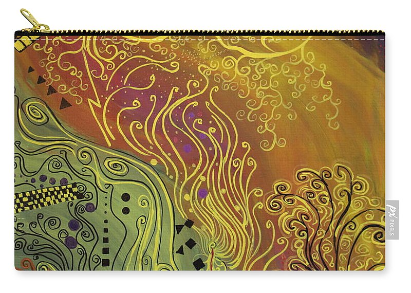 Klimt Carry-all Pouch featuring the painting The Life Of My Son For All by Stefan Duncan