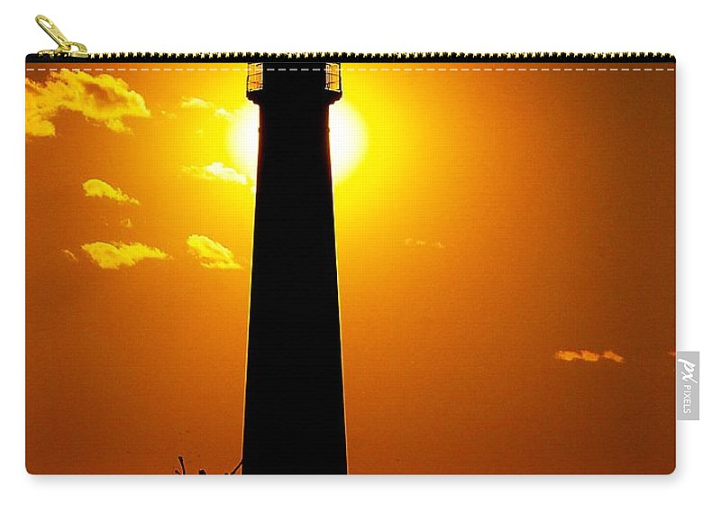 Architecture Carry-all Pouch featuring the photograph The Light Of Cape May by Nick Zelinsky