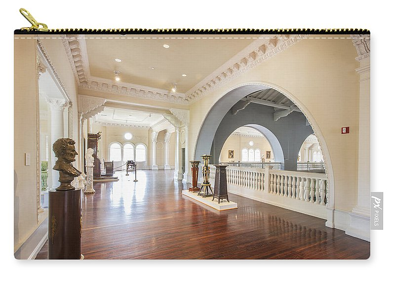 Lightner Museum Carry-all Pouch featuring the photograph The Lightner Museum 2 by Rich Franco