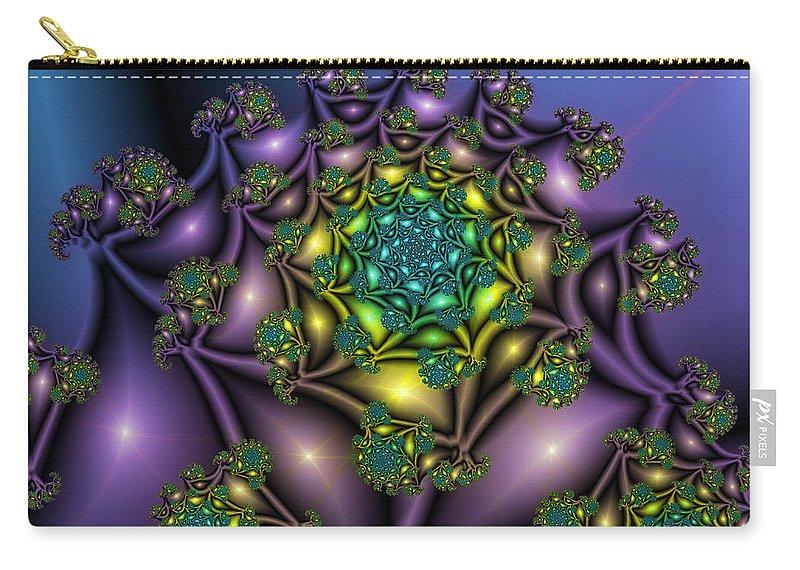 Digital Art Carry-all Pouch featuring the digital art The Little Big by Gabiw Art