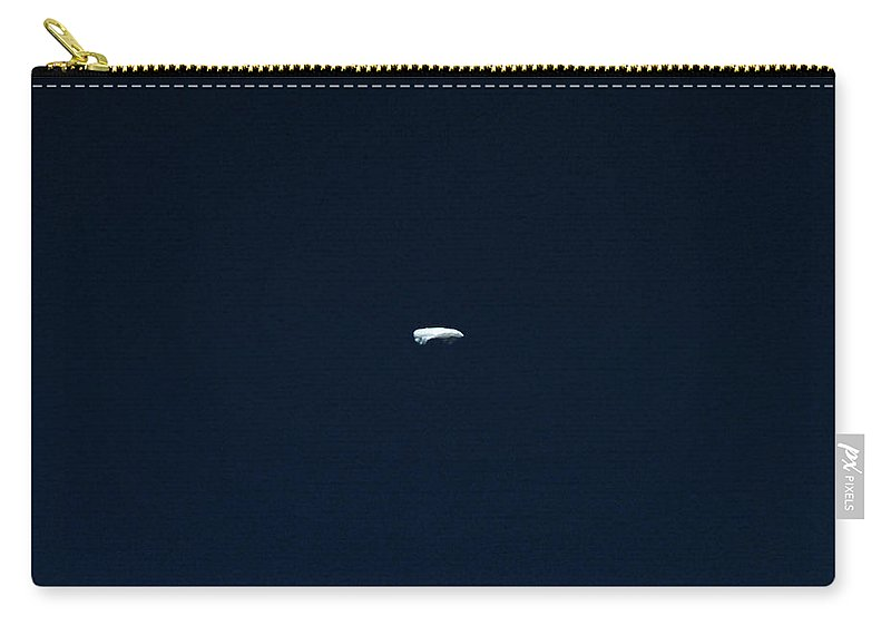 Cloud Carry-all Pouch featuring the photograph The Lonely Cloud by Steve Taylor