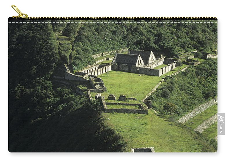 Peru Carry-all Pouch featuring the photograph The Lost City Of Choquequirao by James Brunker