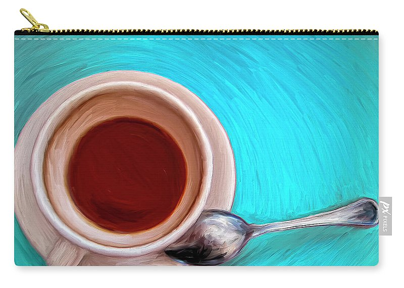 Morning After Carry-all Pouch featuring the painting The Morning After by Dominic Piperata