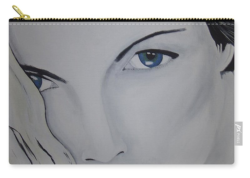 Beauty Carry-all Pouch featuring the painting The Natural by Dean Stephens