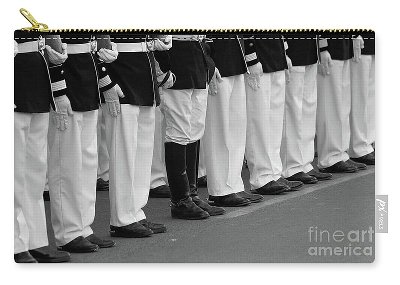Military Carry-all Pouch featuring the photograph The Nonconformist by James Brunker
