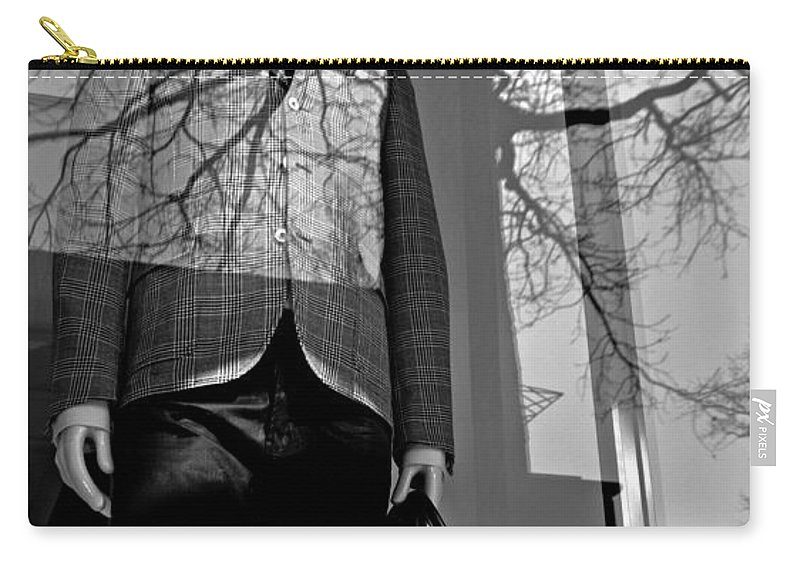 Mannequin Carry-all Pouch featuring the photograph The Office by Diana Angstadt