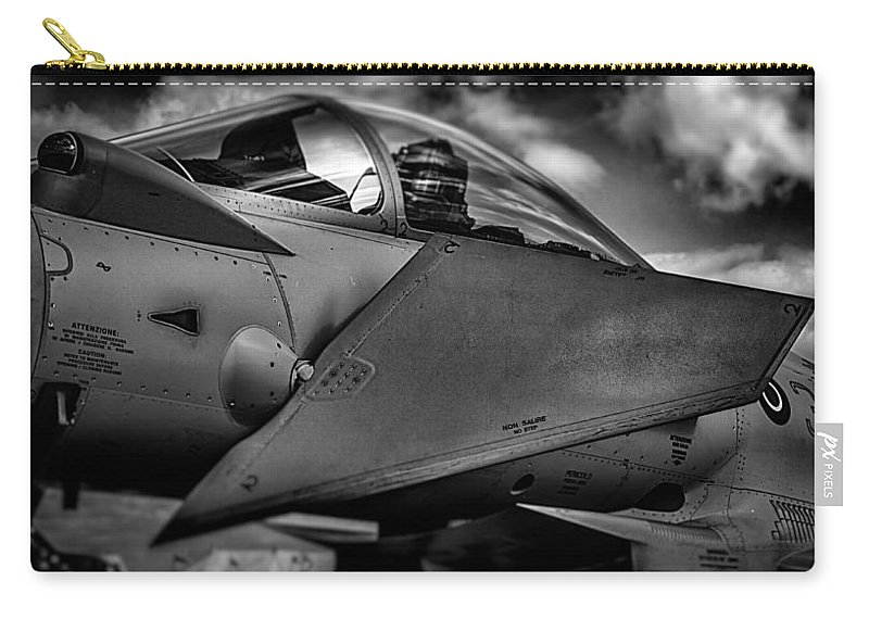 Riat Airshow Carry-all Pouch featuring the photograph The Office by Gareth Burge Photography