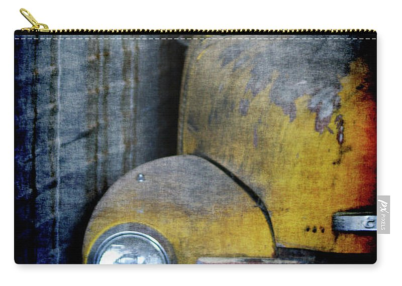 Truck Carry-all Pouch featuring the digital art The Ol Chevy by Ernie Echols