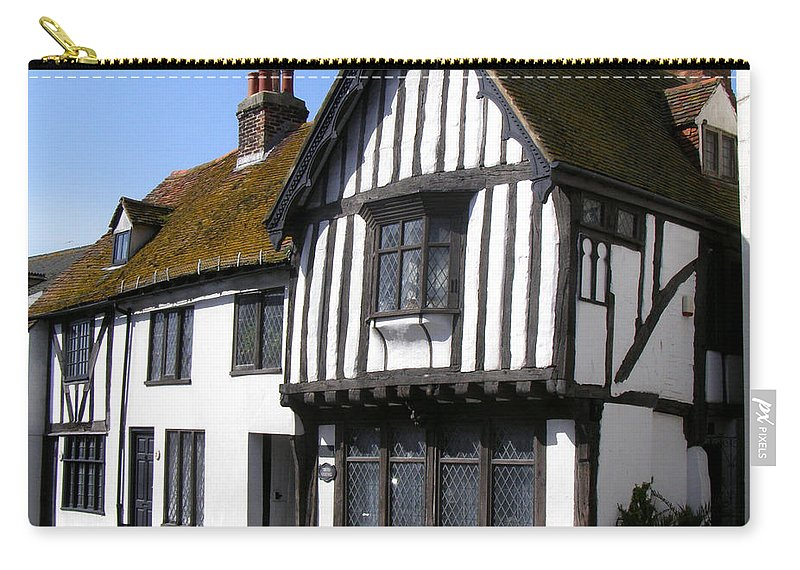 Old Court Hall Hastings Carry-all Pouch featuring the photograph The Old Court Hall Hastings by Terri Waters