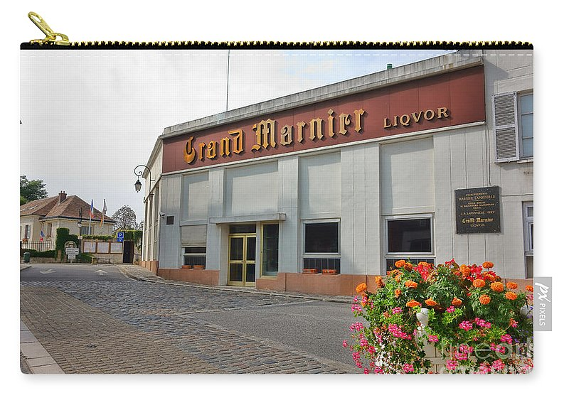 France Carry-all Pouch featuring the photograph The Old Grand Marnier Distillery by Olivier Le Queinec