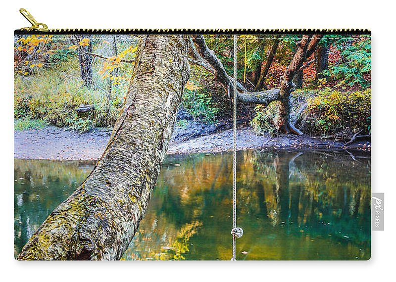 Swimming Carry-all Pouch featuring the photograph The Old Swimming Hole by Edward Fielding