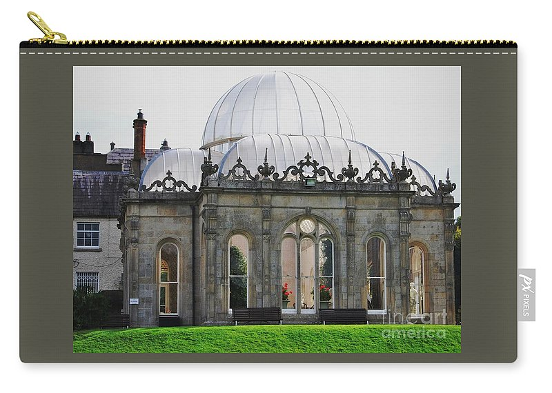 Killruddery House Art Ireland Orangery Stately Home Travel Historic Building Destination Early Victorian Architecture Tourism Iconic Building Weddings Bray Outdoors Souvenirs Canvas Print Wood Print Metal Frame Poster Print Available On Greeting Cards T Shirts Tote Bags Duvet Covers Throw Pillows Shower Curtains Pouches Weekender Tote Bags Mugs And Phone Cases Carry-all Pouch featuring the photograph The Orangery Killruddery House, Bray, Ireland by Marcus Dagan