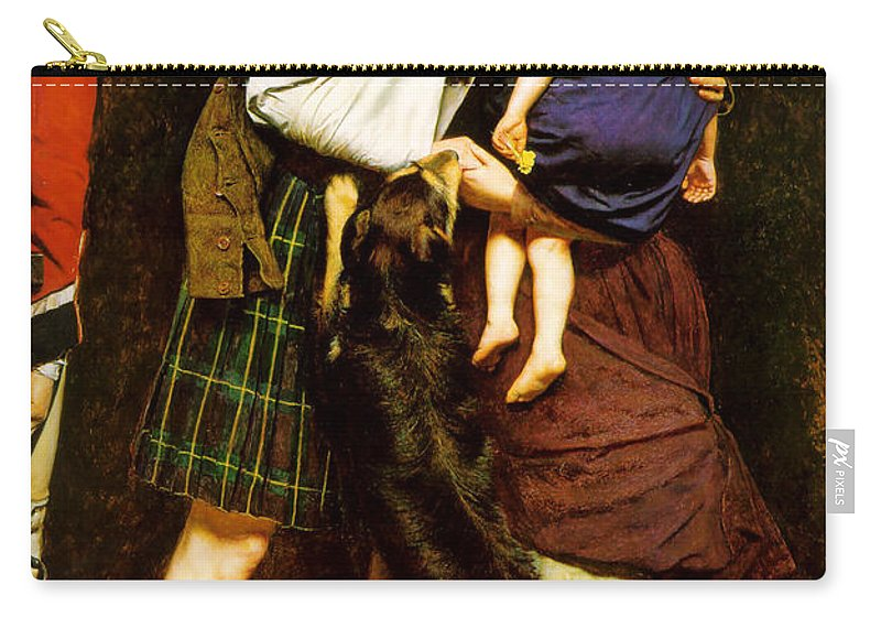 John Carry-all Pouch featuring the painting The Order Of Release by Philip Ralley