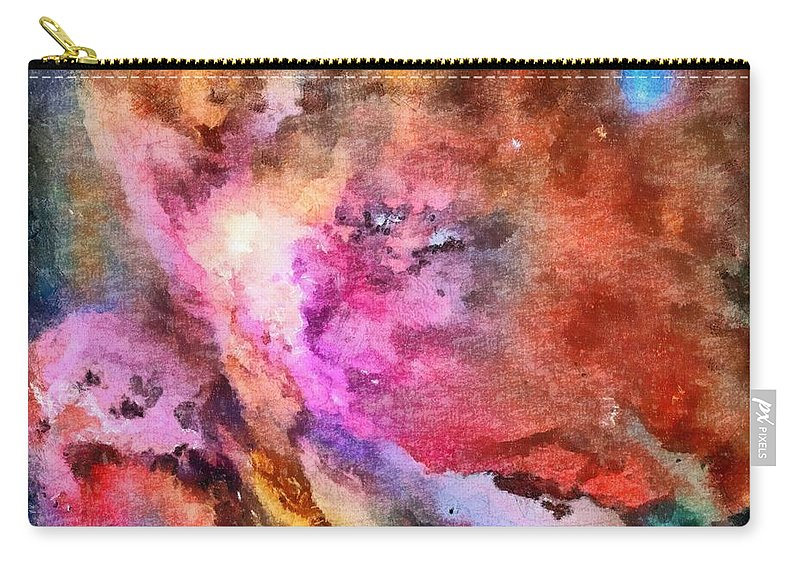The Orion Nebula Carry-all Pouch featuring the painting The Orion Nebula by Dan Sproul