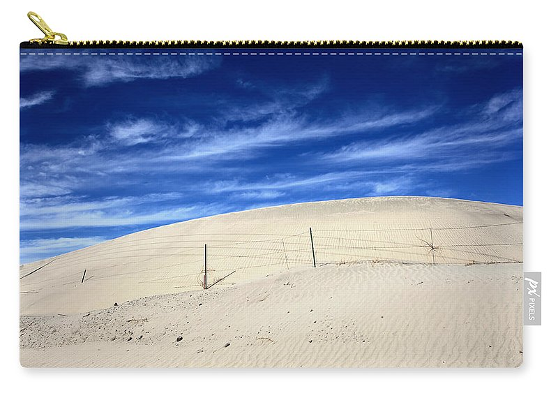 Palm Desert Carry-all Pouch featuring the photograph The Overtaking by Laurie Search