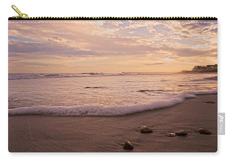 Topsail Carry-all Pouch featuring the photograph The Pace Of Topsail by Betsy Knapp