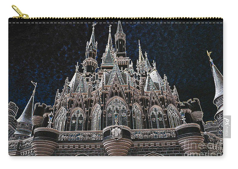 The Palace Carry-all Pouch featuring the photograph The Palace by Robert Meanor