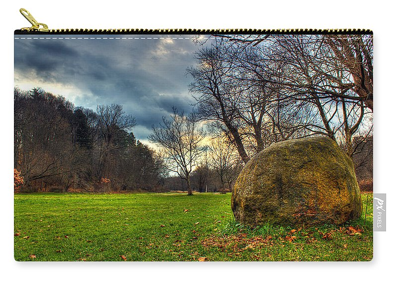 Ellison Park Carry-all Pouch featuring the photograph The Park by Tim Buisman