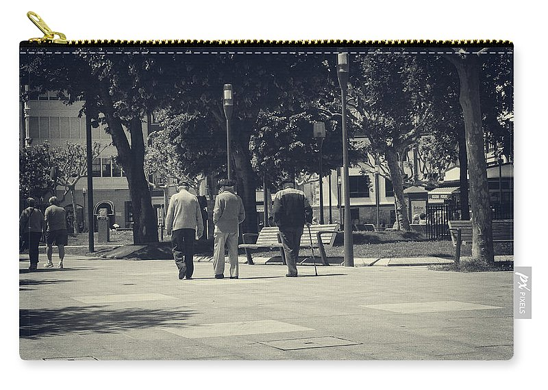 Stroll Carry-all Pouch featuring the photograph The Passage Of Time by Lucinda Walter