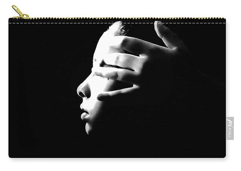 Emotive Carry-all Pouch featuring the photograph The Perfect Eyes? by Jessica Shelton