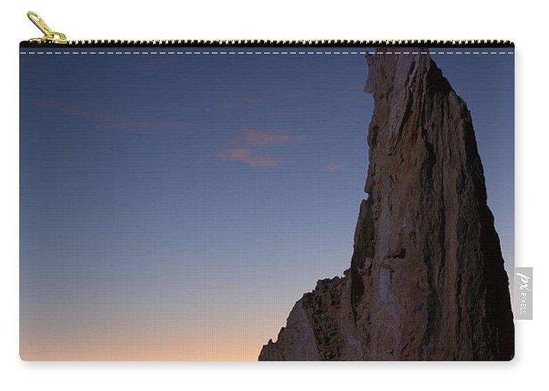 The Pinnacles Carry-all Pouch featuring the photograph The Pinnacles 2am-111069 by Andrew McInnes