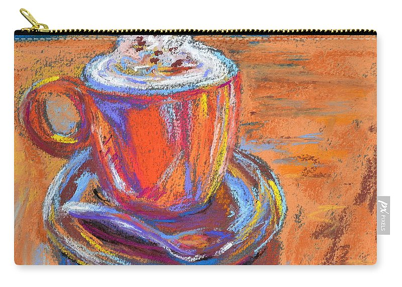 The Pleasure Of A Well-made Thing Carry-all Pouch featuring the painting The Pleasure Of A Well-made Thing by Beverley Harper Tinsley