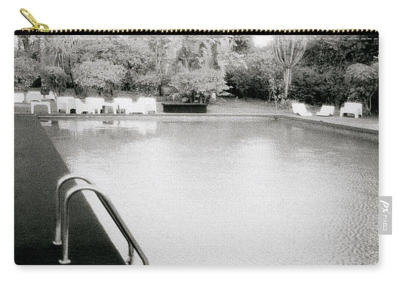 Paradise Carry-all Pouch featuring the photograph The Pool by Shaun Higson